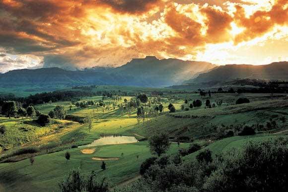 Rovos Rail, golf