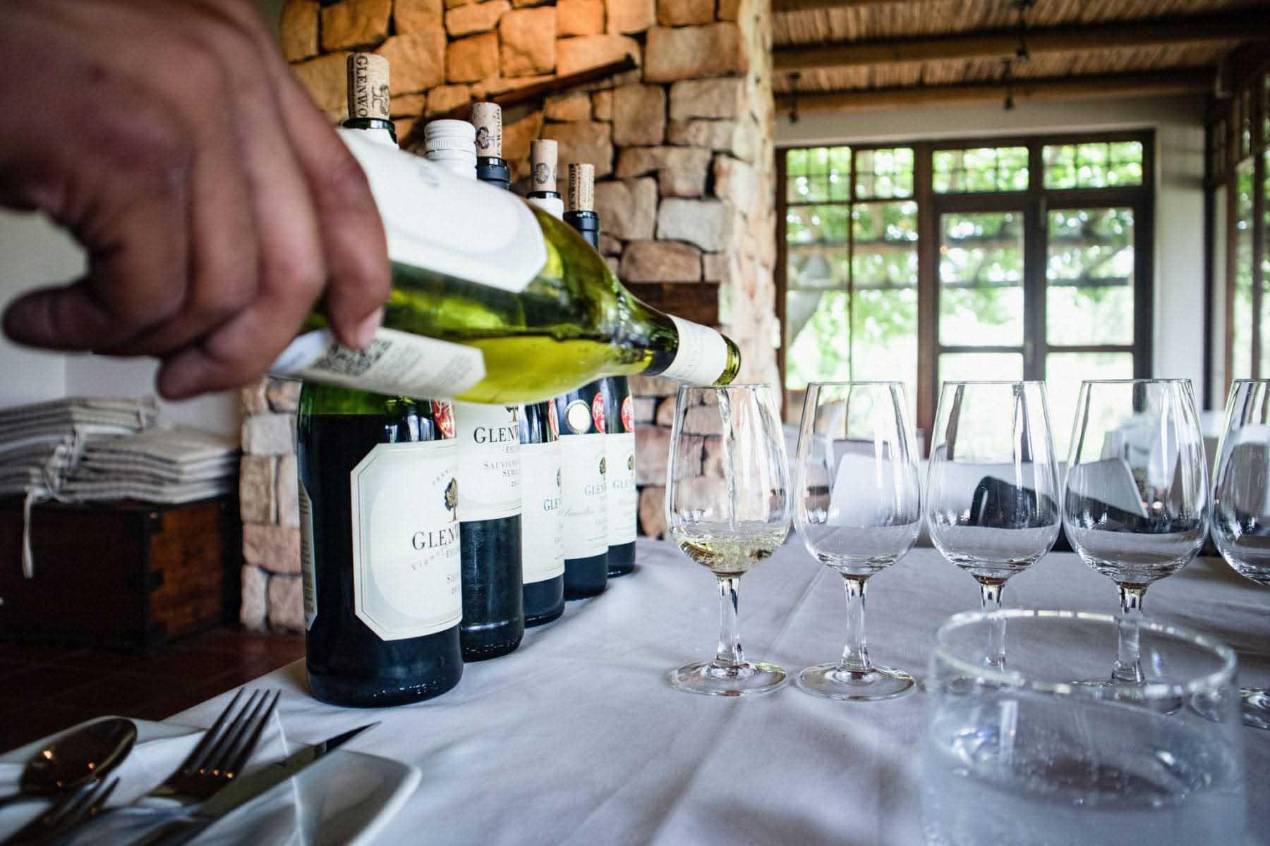 vinlandet, Franschhoek, Sydafrika, viner, GlenWood