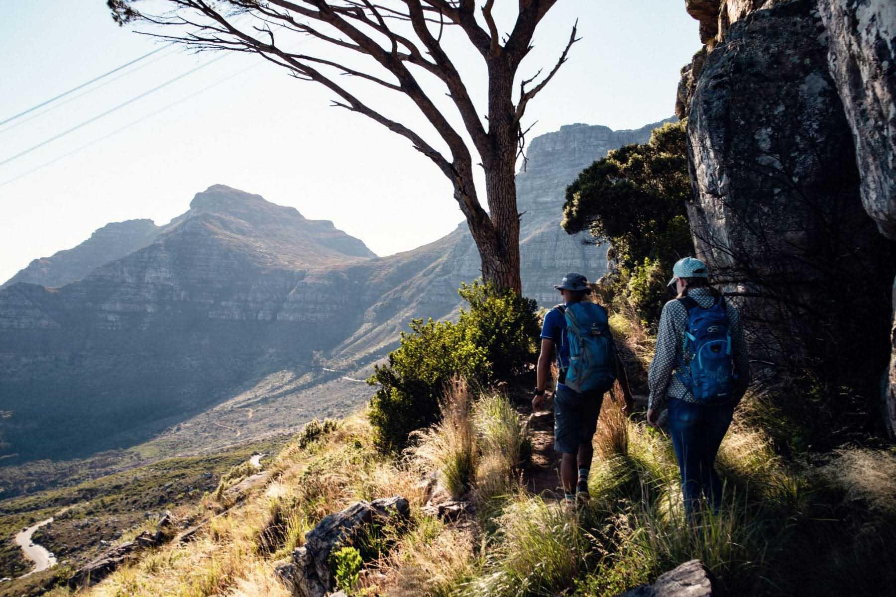 vandring kapstaden sydafrika