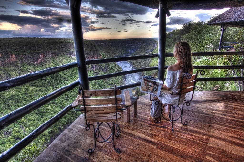 Gorges Victoria Falls Viktoriafallen