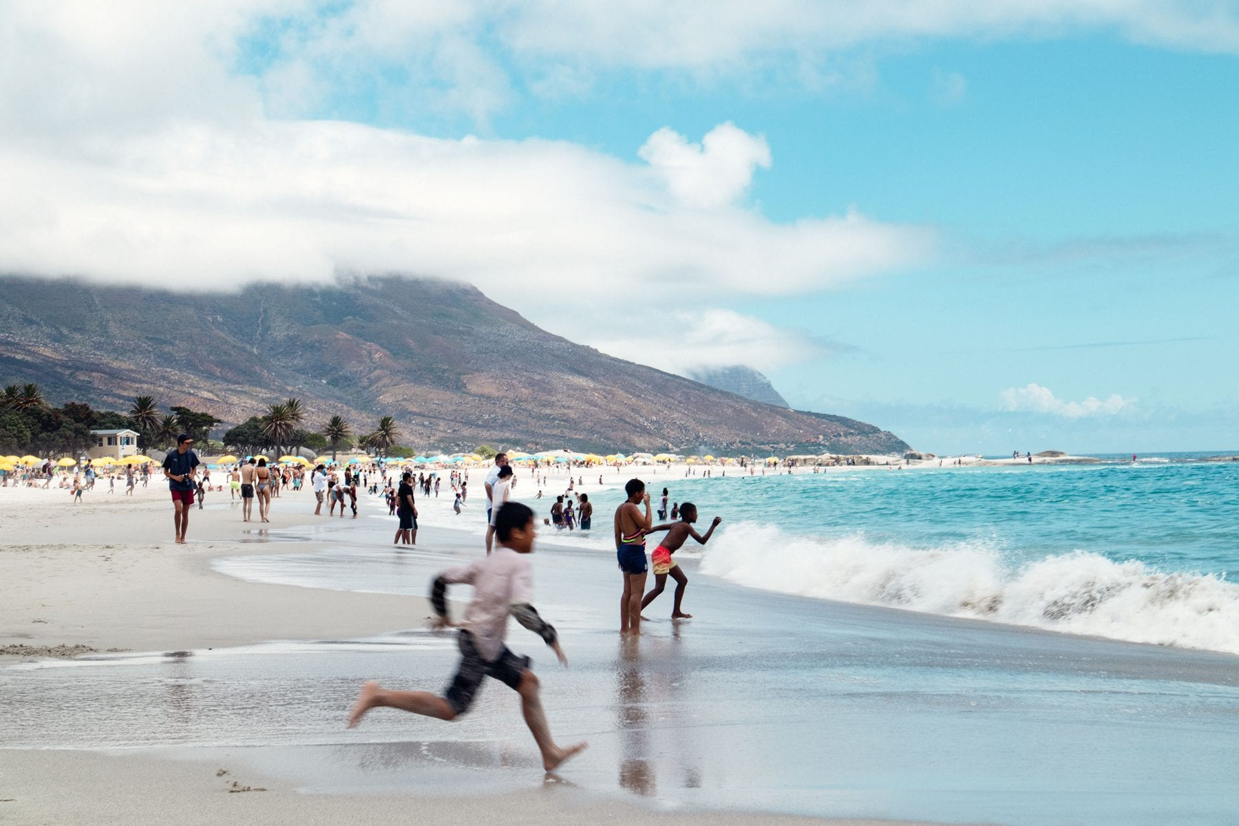 Camps Bay, Kapstaden, Sydafrika