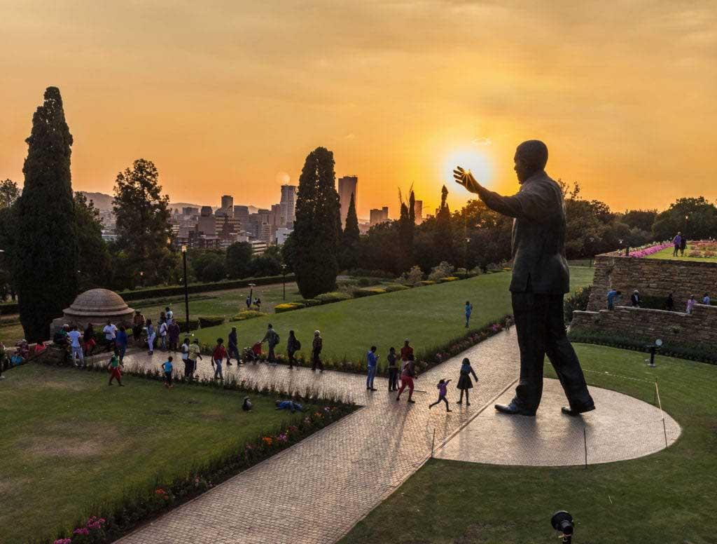 Mandela Statue, Johannesburg Gauteng