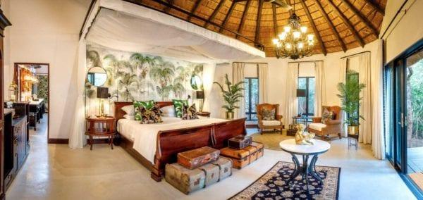 Kings Camp luxury suite, Timbavati, Kruger, Sydafrika