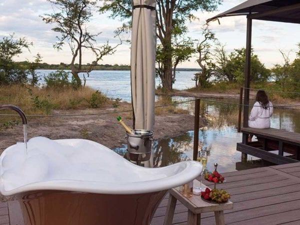 Old Drift Lodge, Zambezifloden, Victoriafallen