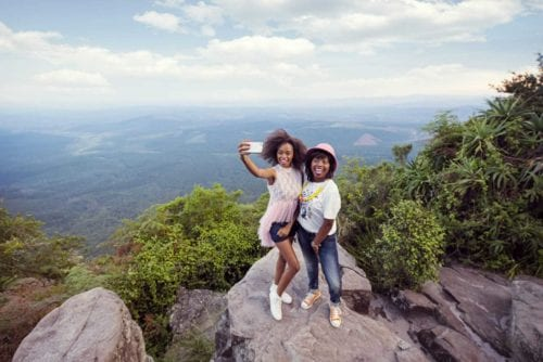 Sydafrika internationella turister