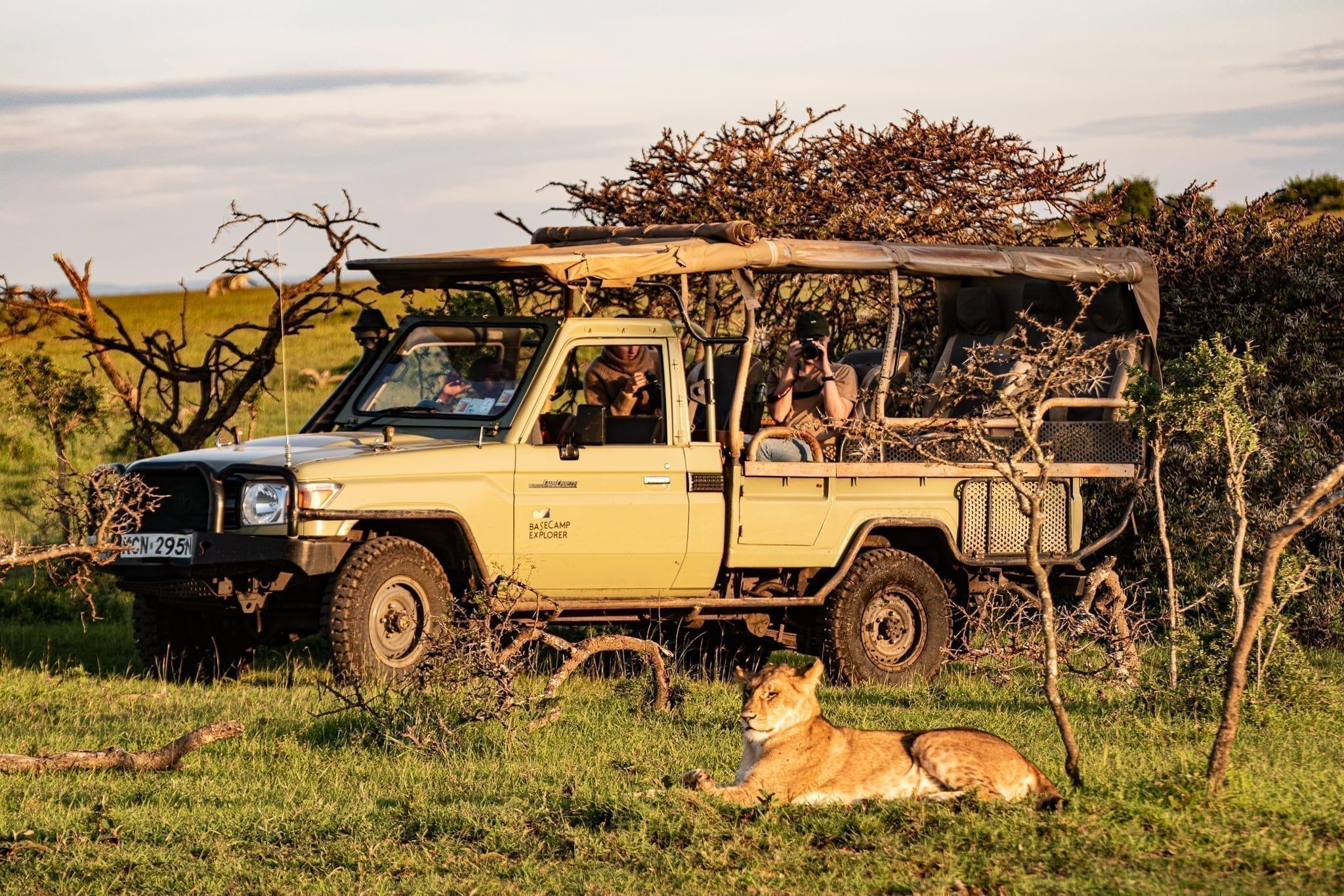 dricks på safari i Kenya - så mycket ska du ge