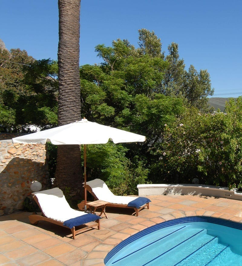 Rutland Lodge i Kapstaden, poolen