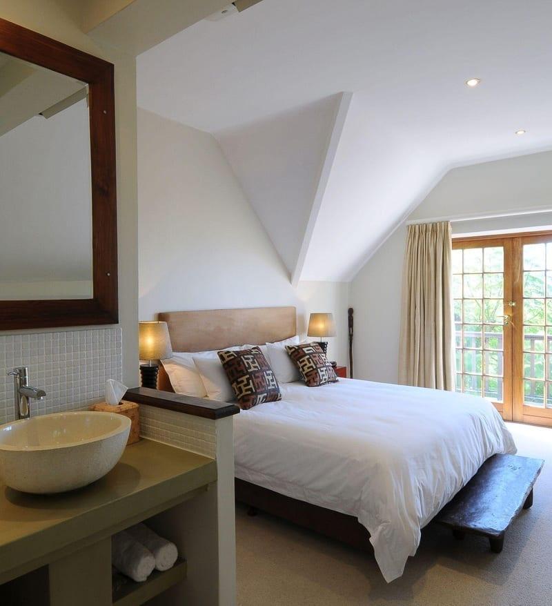 Rutland Lodge i Kapstaden, sovrum