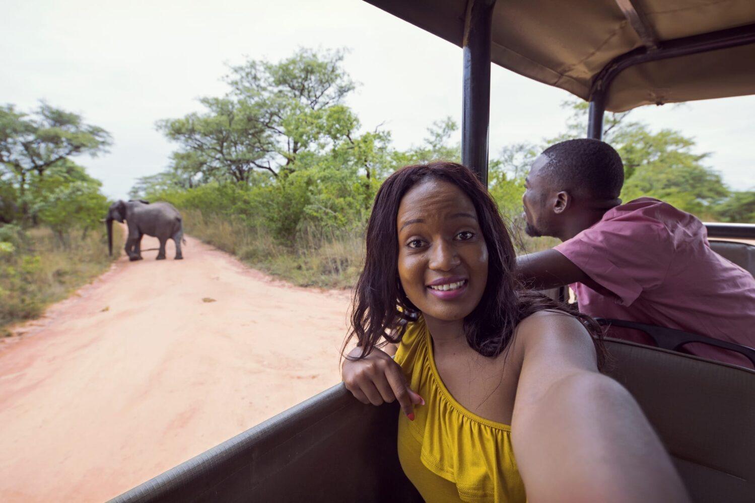 safari i afrika, nära Kapstaden