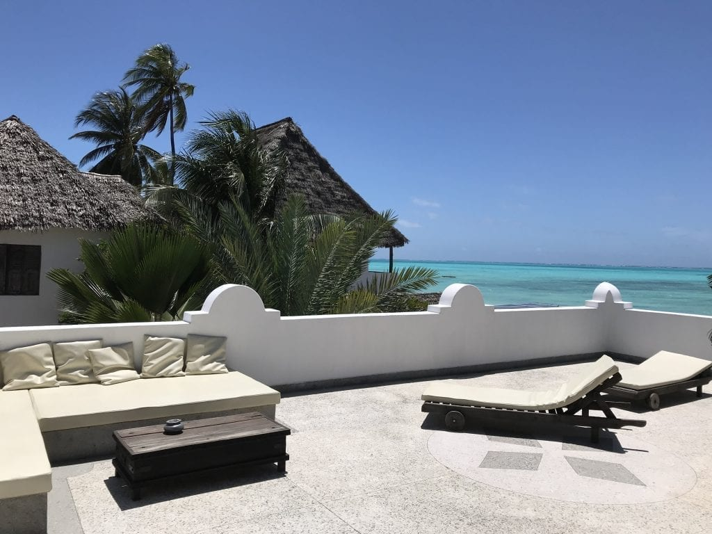 Mwendawima Villa på Zanzibars östra kust, Jambiani